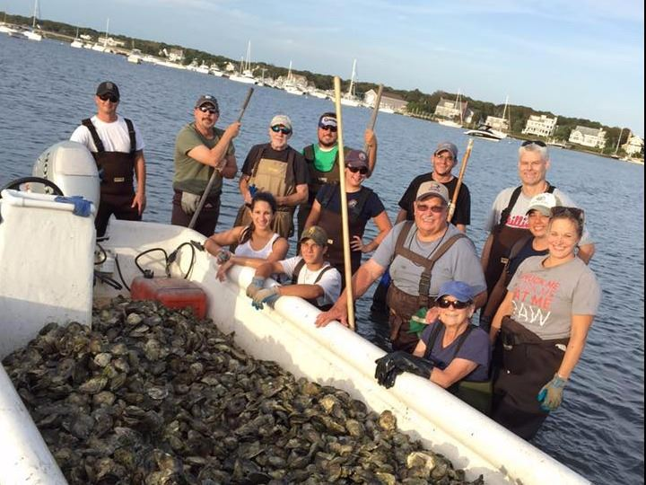 2015 Oyster Relay in Green Pond