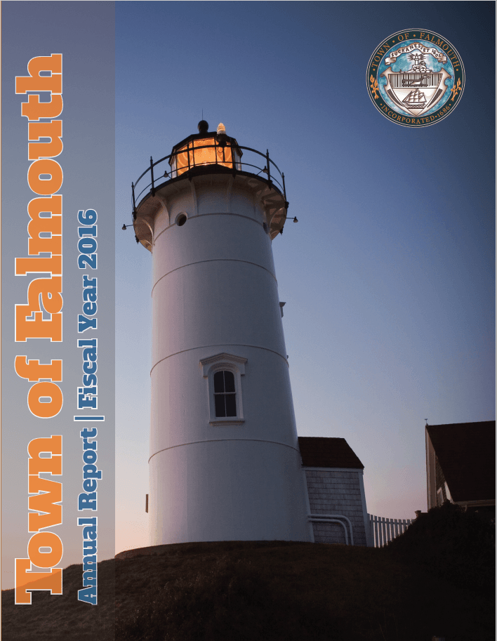 Fiscal Year 16 Town of Falmouth Annual Report