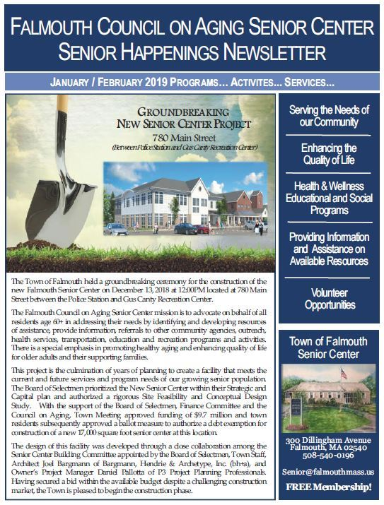 JAN/FEB 2019 Senior Happenings Newsletter