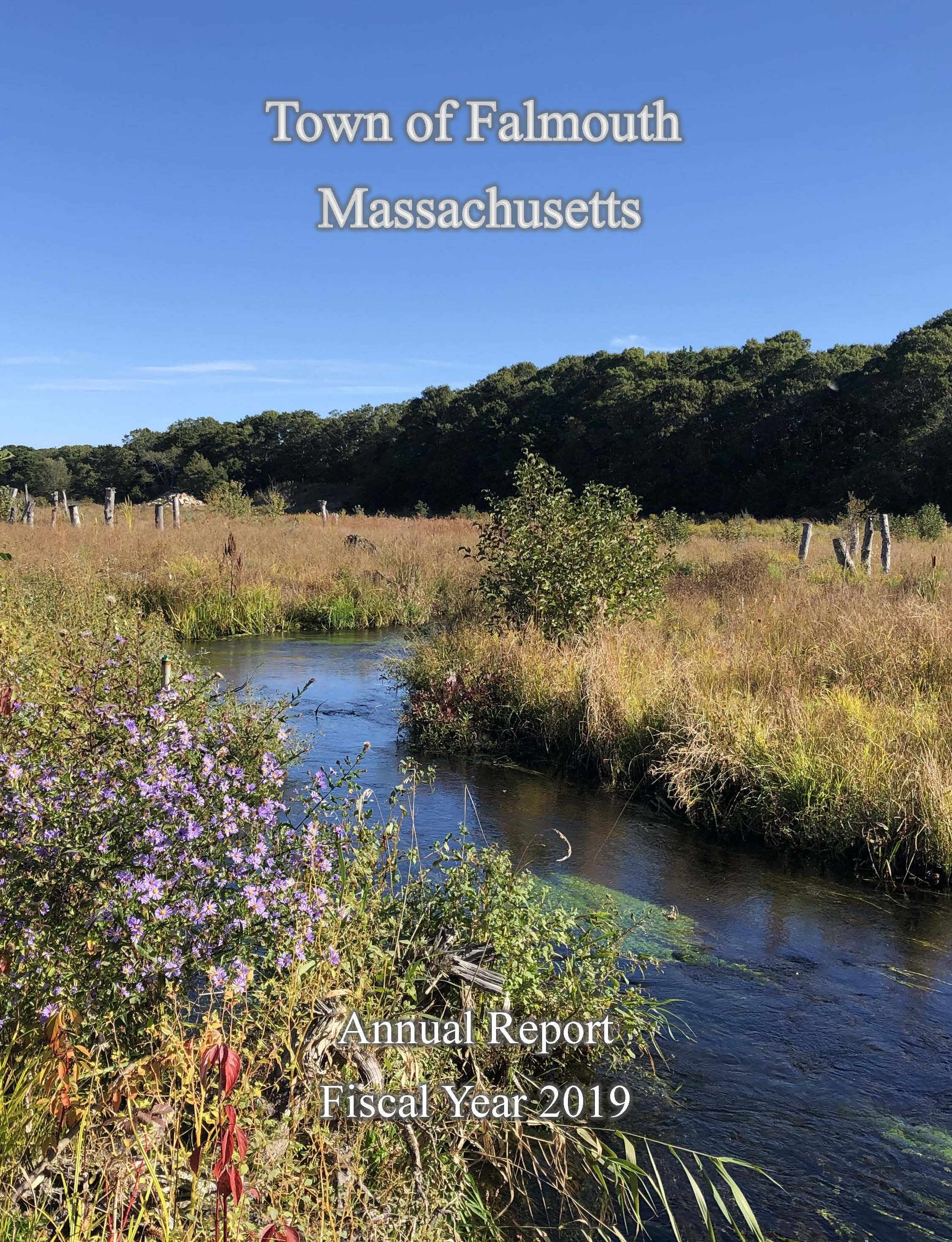 2019 Town Report Cover