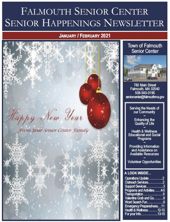 01022021 SENIOR HAPPENINGS NEWSLETTER