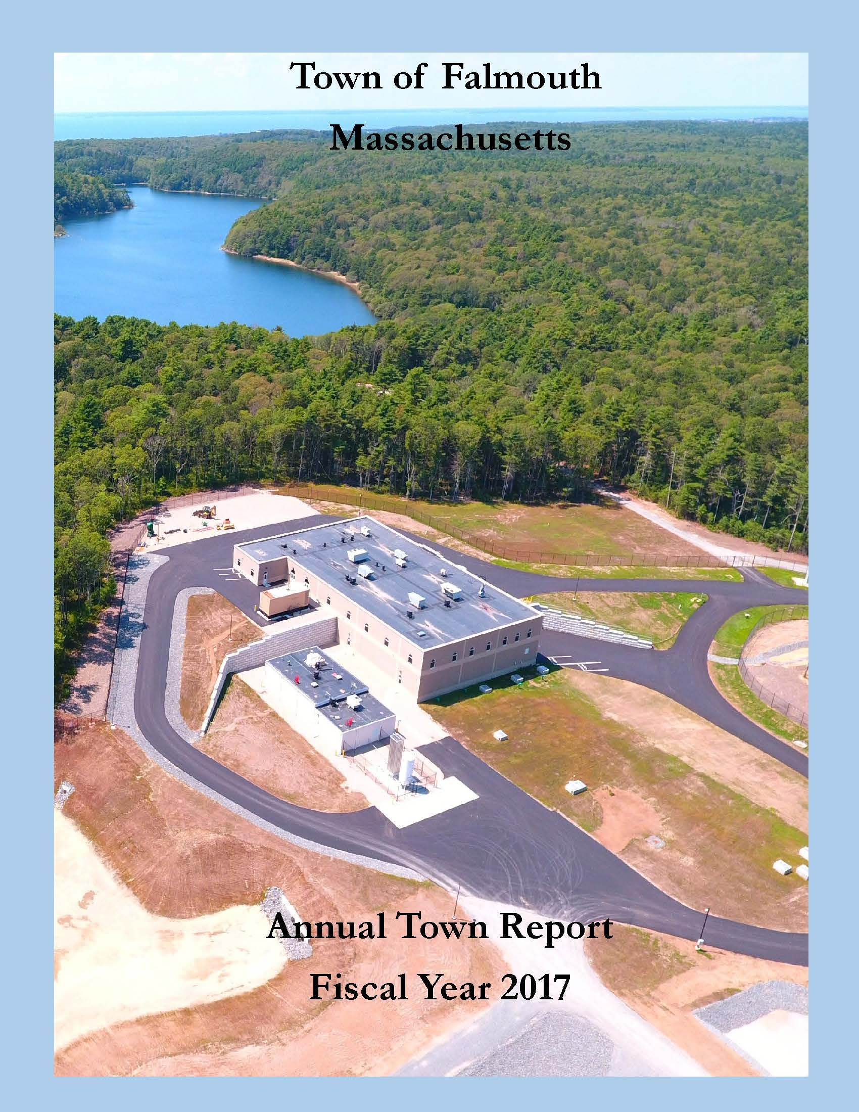 Town Report Front Cover Only