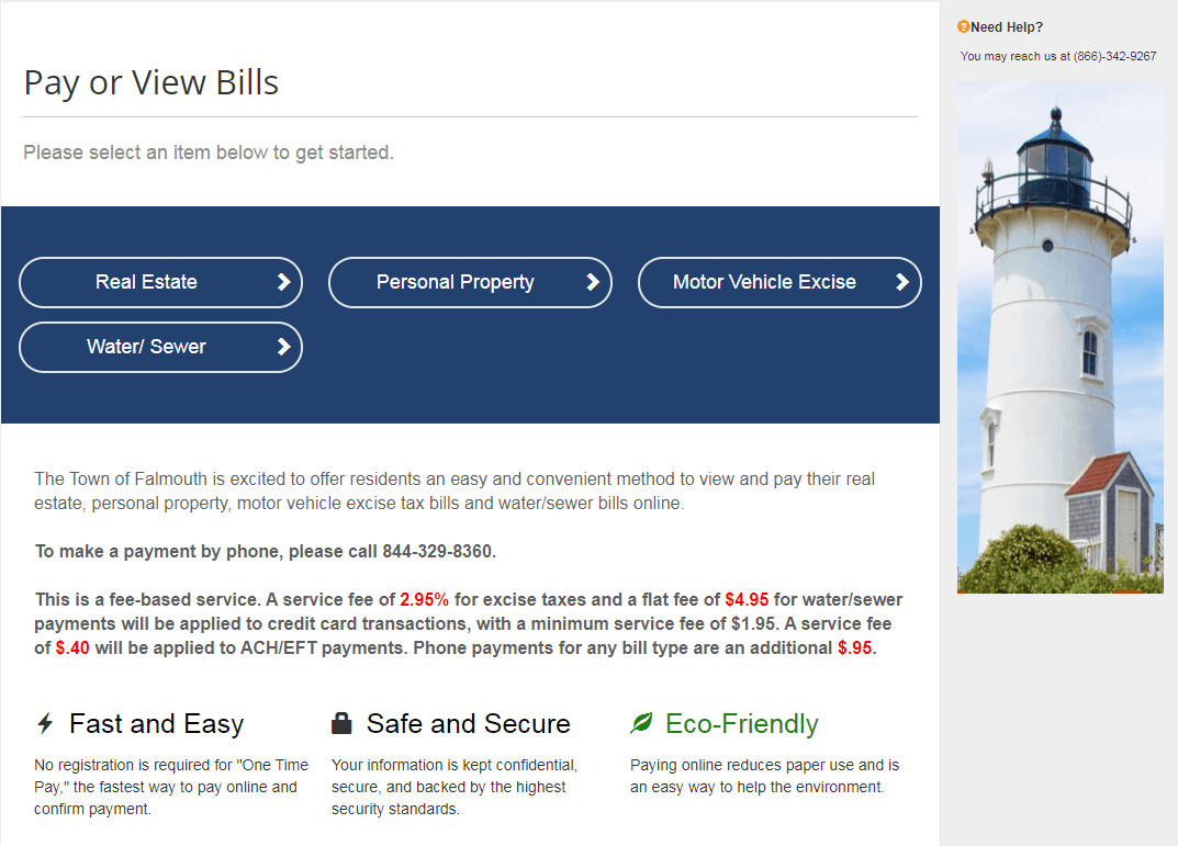 Pay or View Bills