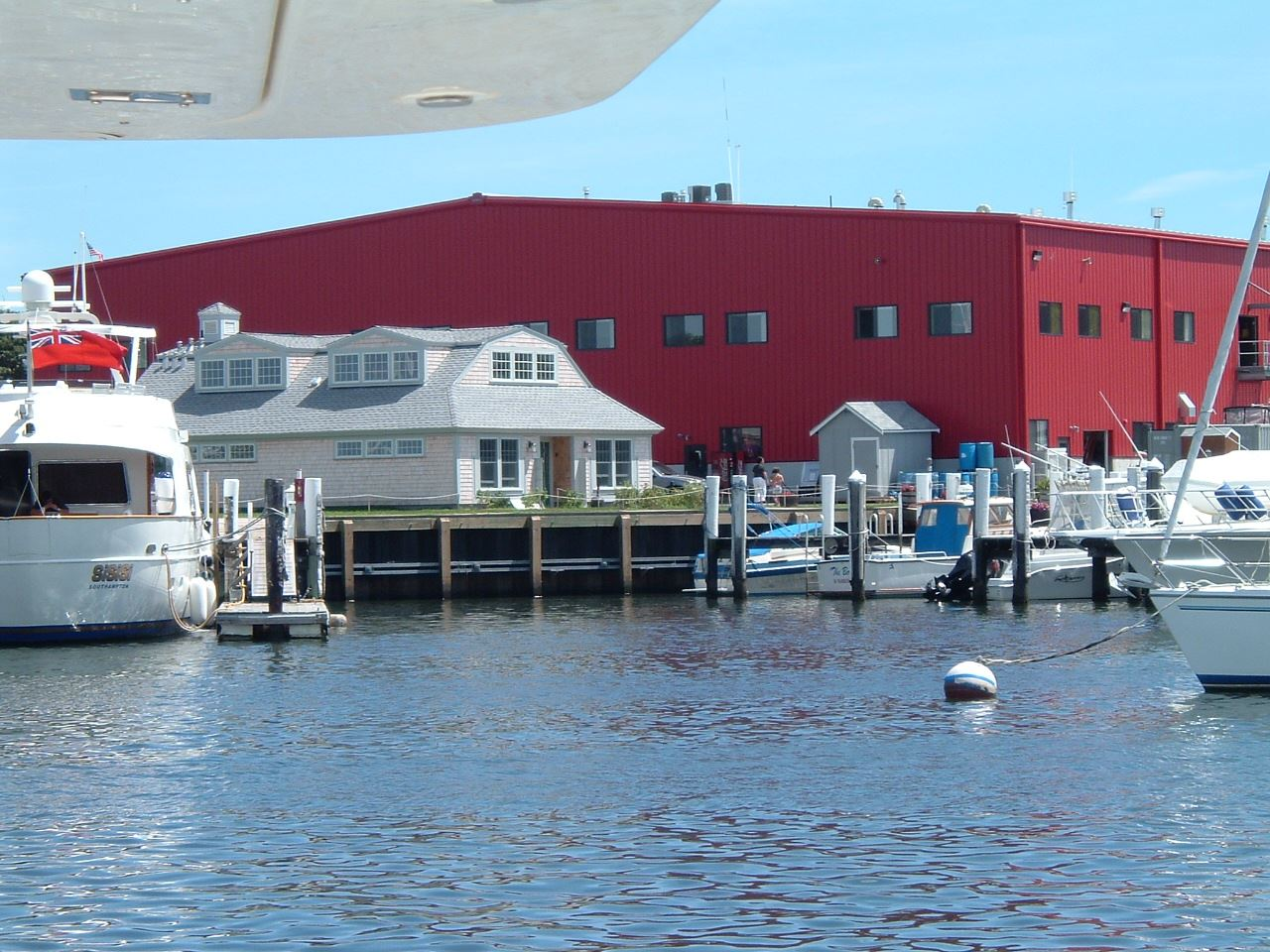 MacDougalls Members Clubhouse and Boat Storage Building